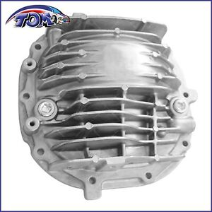 Aluminum finned 8 8 Axle Rear Differential Cover For 1985 2014 Ford Mustang