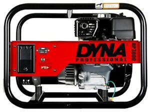 Winco Dp3000 Dyna 2500w Running Professional Portable Generator 120v 1ph Recoil