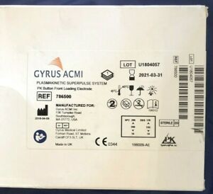 Gyrus Acmi 786500 Plasmakinetic Superpulse System Electrode Exp 3 31 2021 Sealed