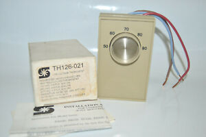Sunne Controls Th126 021 Line Voltage Heating cooling Thermostat 120 240 277 New