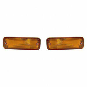 Fits Toyota Corolla Sedan wagon 1988 1990 Signal Light Assembly Lh And Rh Side