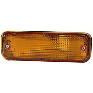 Fits Toyota Corolla Sedan wagon 1988 1990 Signal Light Assembly Driver Side