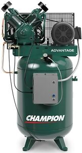 Champion Advantage 10hp 120gallon Air Compressor 3phase 33cfm 5 Option Available