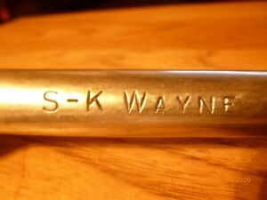 S K Sk Wayne Tools 1 2 Drive Ratchet Socket Wrench 42470 Made In Usa