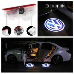 2x Welcome Courtesy Led Light Door Projector Hd For Vw Golf Jetta Mk5 Mk6 Mk7