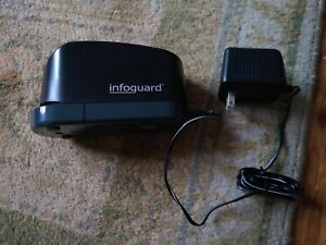Infoguard Es20h Electric Stapler 20 Sheet With Ac Power Adapter Works Great