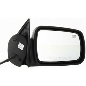 For Jeep Cherokee Mirror 1996 1998 Passenger Side Textured Black Ch1321144