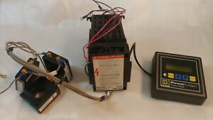 Square D Powerlogic 3020 Pm 600 With Pmd 32 Power Meter Current Transformers