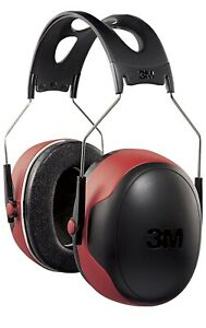 3m Hearing Protector Black And Red