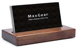 Maxgear Business Card Holder For Desk Wood Business Card Display Holders Card X