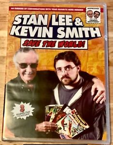 Stan Lee and Kevin Smith Save the World 2 Disc 3 Movie DVD 2017 new sealed $1.89
