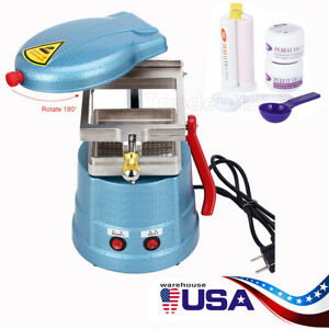 Dental Vacuum Former Forming Molding Machine silicone Putty Impression Material