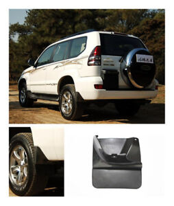 For Toyota Land Cruiser Prado Fj120 2003 2009 2 both Rear Mud Flaps Splash Guard