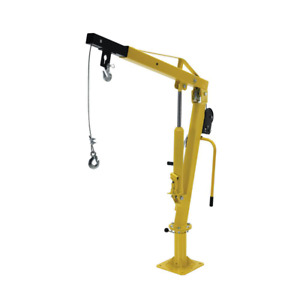 500 Ext Winch Operated Pick Up Truck Bed Jib Crane Load Lift Lifter Tool