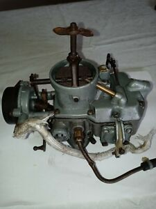 Ford Autolite 1100 Carburetor 63 64 65 66 67 Mustang Falcon