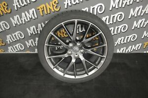 2010 Infiniti G37 Coupe Ipl Enkei Staggered Rear Wheel rim 19x9 Oem