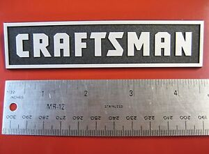 Sears Craftsman Tool Box Badge Chest Cabinet Emblem Decal Sticker Logo 4 5 8