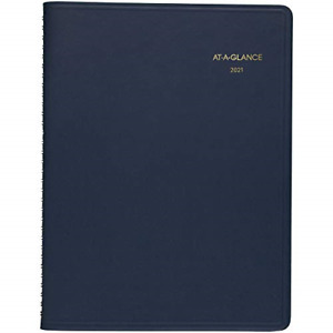 2021 Weekly Appointment Book Planner By At a glance 8 1 4 X 11 Large Navy
