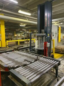 Wulftec Pallet Wrapper Turntable Stretch Wrapper Powered Roller Conveyors