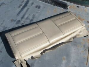 1971 1972 1973 Mustang Mach 1 Fold Down Seat Top White