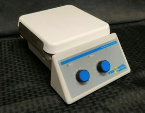 Vwr Model 375 7x7 Hot Plate Magnetic Stirrer Tested Working For Heat spin