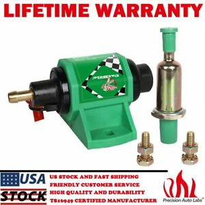 12d Electric Universal Fuel Pump 35gph Free Flow For Diesel Engines 4 7 Psi 12v