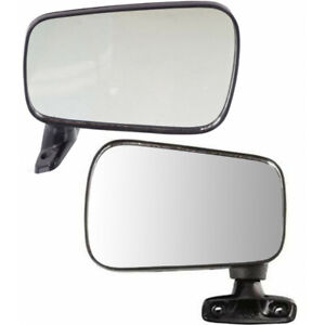 For Volkswagen Rabbit Convertible Mirror 1980 1984 Lh And Rh Pair Non heated