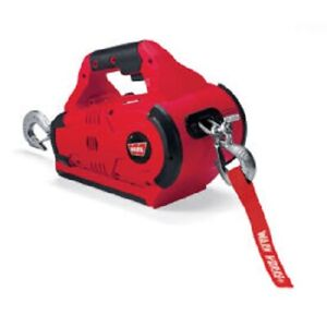 Warn 885005 Works Pullzall Battery Power Portable Pulling Lifting Tool New