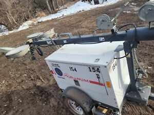 2014 Magnum Mlt3060k Towable Light Tower Generator Kubota Diesel Genset