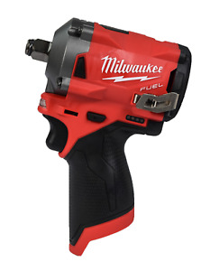 Milwaukee 2555 20 M12 Fuel Stubby 1 2 In Impact Wrench With Friction Ring