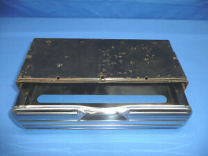 Vintage Original Auto Serv Accessory Kleenex Tissue Dispenser Box Chevy Ford Ct7