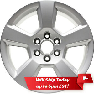 New Set 4 20 Wheels And Centers For Chevy Silverado Tahoe Gmc Sierra 1500
