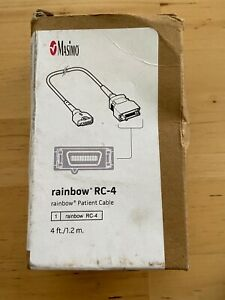 Masimo Set Rainbow Rc 4 Patient Cable 4ft Ref 2406 Brand New In Box