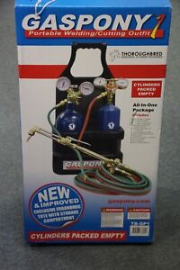 Thoroughbred Gaspony1 Portable Welding cutting Torch Outfit Tb gp1