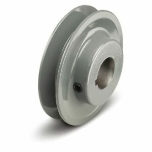 Tb Wood s Bk341 1 Fixed Bore 1 Groove Standard V belt Pulley 3 55 In Od