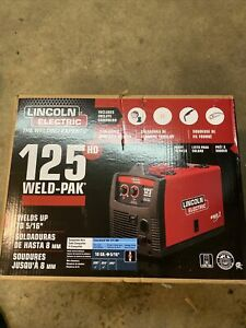 Lincoln Electric 125 Hd Weld pack K2513 1