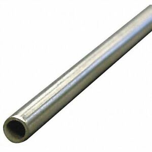 Zoro Select 3ade8 3 8 Od X 6 Ft Welded 304 Stainless Steel Tubing