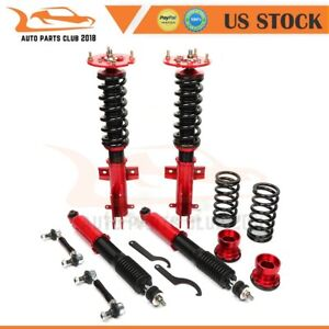 Coilovers Struts Suspension Spring Kits For 2005 2014 Ford Mustang Adj Height
