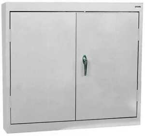 Sandusky Wa21301230 05 Wall Mount Storage Cabinet dove Gray