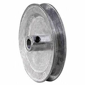 Congress Ca0275x037 3 8 Fixed Bore 1 Groove Standard V belt Pulley 2 75 In Od