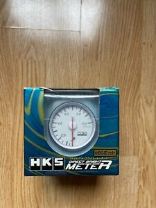 Hks 60mm Oil Pressure Gauge New Dash Nismo Defi Skyline Supra Silvia Boost R32