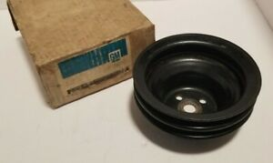 Gm Water Pump Pulley 1244761 Buick 350 455 3 Groove