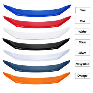 Car Rear Trunk Lip Tail Wing Spoiler 7 Color Sticky For Honda Civic 2016 2020