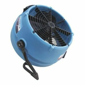 Dri eaz F568 Portable Blower Fan 2600 Cfm High blue
