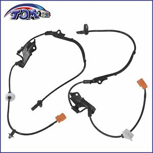 Abs Wheel Speed Sensor Front Left Right For 03 05 Honda Accord 2 4l 3 0l 2pcs