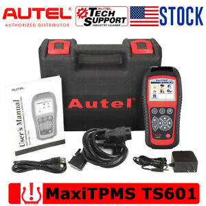 Autel Obdii Scanner Ts601 Tpms Sensor Programming Activate Relearn Tool Key Fob
