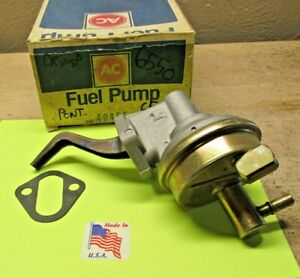 1963 To 1965 Pontiac Grand Prix Tempest 389 421 V8 New Fuel Pump Oem Ac 40455
