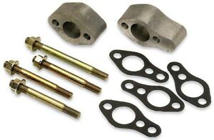 Moroso 63510 Aluminum Water Pump Spacer Kit Sbc Spaces Short To Long Pump