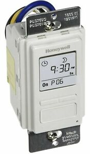 Honeywell Econoswitch Programmable Timer Switch Pls750c1000 Used