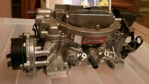 Edelbrock 1813 Thunder Series Avs Carburetor 800 Cfm Electric Choke Very Clean